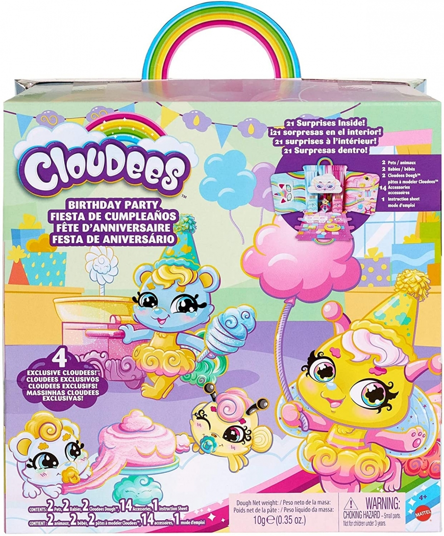 Mattel Cloudees Birthday Party set