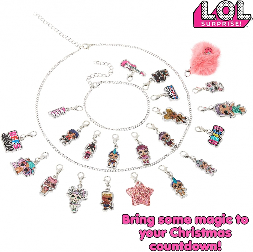 LOL Surprise Advent Calendar 2020 with charms