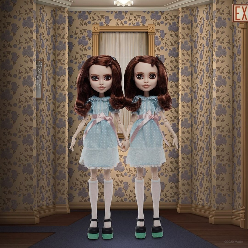 Monster High collector The Shining Grady Twin dolls