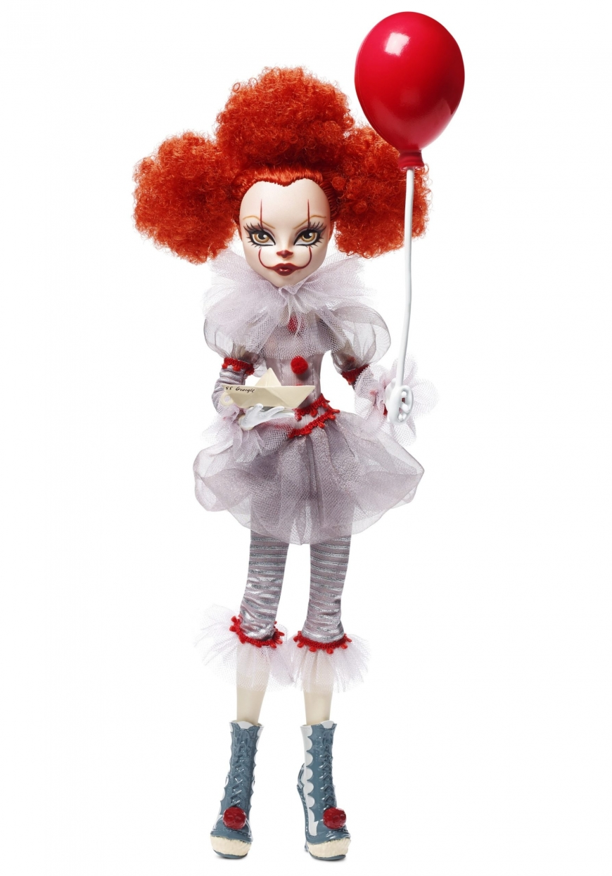 Monster High collector It Pennywise doll