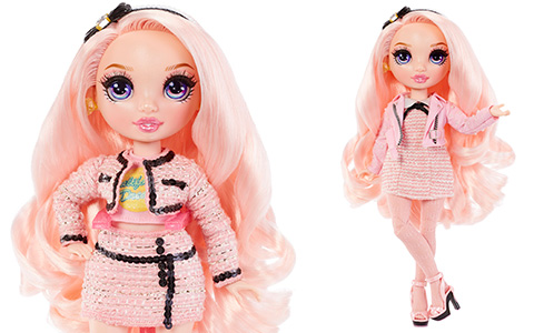 Rainbow High Series 2 Bella Parker pink doll
