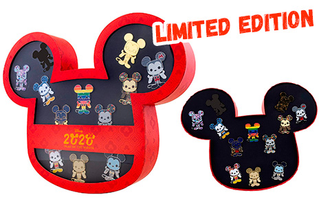 Funko Loungefly: Disney - Year of The Mouse 12 Pin Limited Edition Set