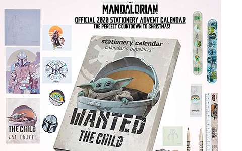 Star Wars Mandalorian Baby Yoda The Child advent calendar 2020