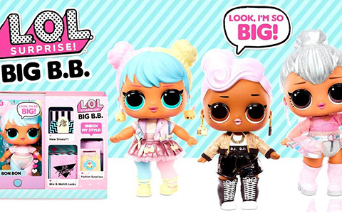 LOL Surprise Big B.B. (Big Baby) New large LOL Surprise Tots dolls!