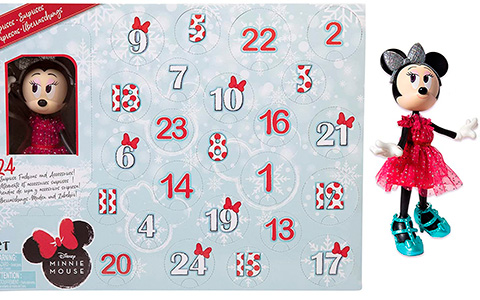 Disney Minnie Mouse сollectible fashion doll Advent Calendar