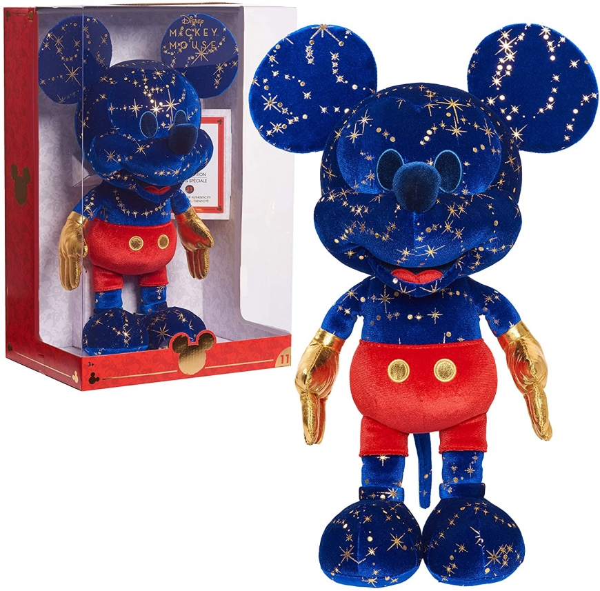 Disney Year of the Mouse Collector Plush Fantasia Mickey Mouse month of November