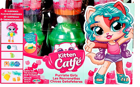 Kitten Catfe Purrista series 4 dolls