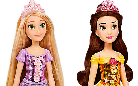 Disney Princess Royal Shimmer new budget princesses dolls from Hasbro