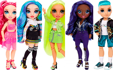 Rainbow High series 2 fashion dolls