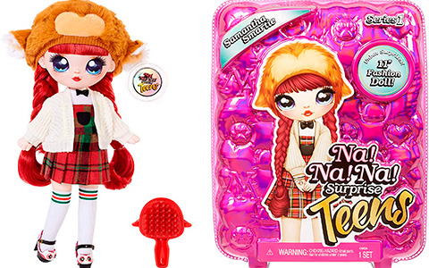 Na Na Na Surprise Teens Samantha Smartie doll is available for preorder