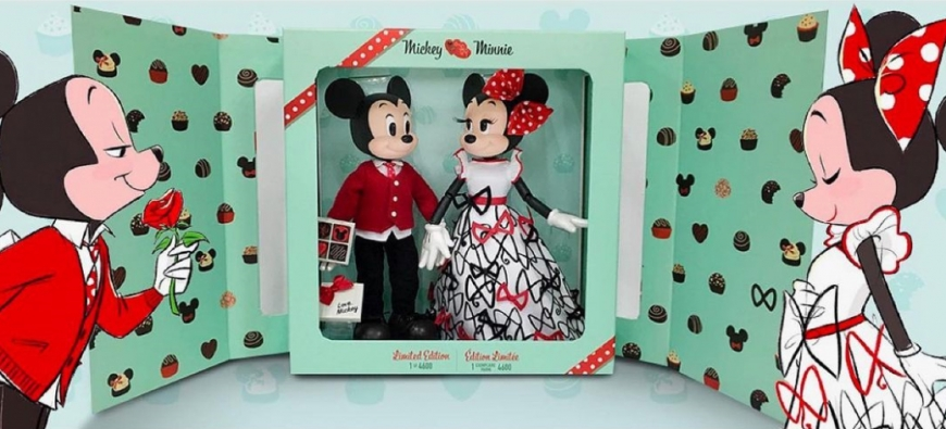 Disney Limited Edition Mickey & Minnie Mouse Doll Set 2021