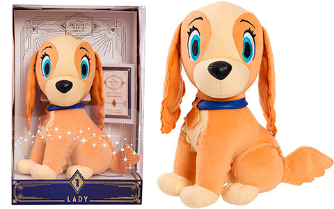 Limited Edition Lady plush first from the Treasures From the Vault Plush 2021 collection