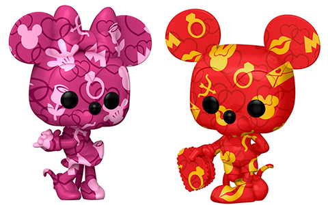 Funko Pop! Art Series Mickey and Minnie Mouse 2021 available for preorder