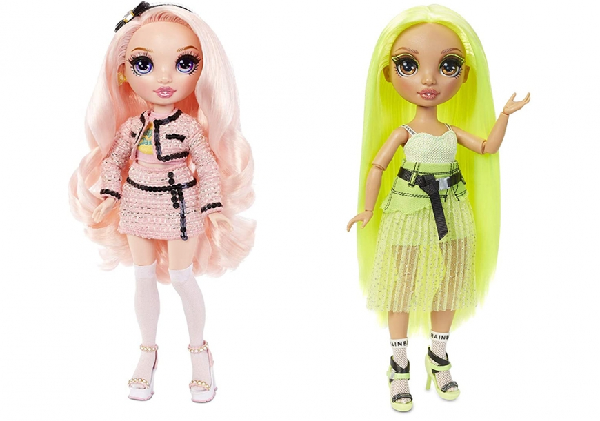 Rainbow High Karma Nichols and Bella Parker dolls
