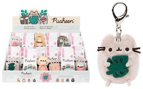 Pusheen Surprise Plush series 15 Botanical