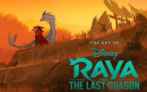 Art of Raya and the Last Dragon book