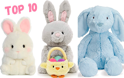 9+ cutest Bunny toys for Easter gifts