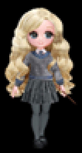 Luna Lovegood Wizarding World doll Spin Master