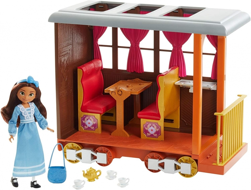 Spirit Untamed Lucky's Train Home doll set