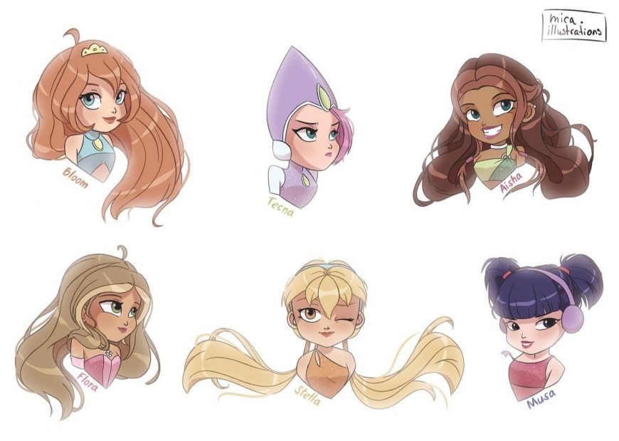 Super cute Winx pictures