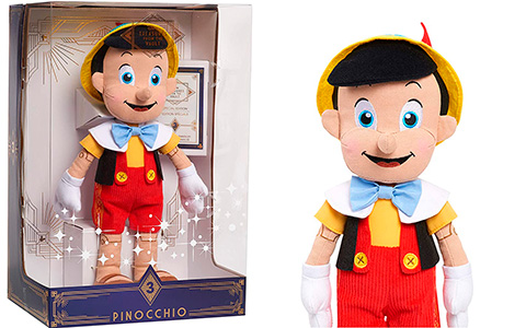 Limited Edition Disney Treasures from The Vault Pinocchio Plush is available now