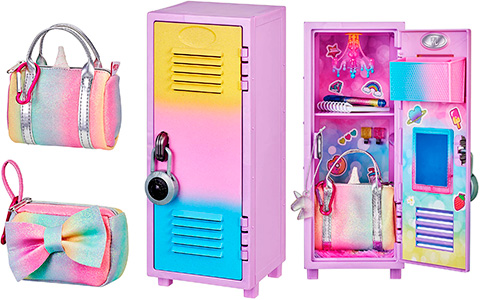 Real Littles Locker + Handbag Bundle Pack