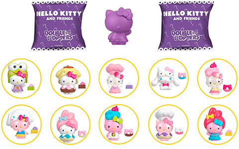 Sanrio Hello Kitty Double Dippers collectible figures
