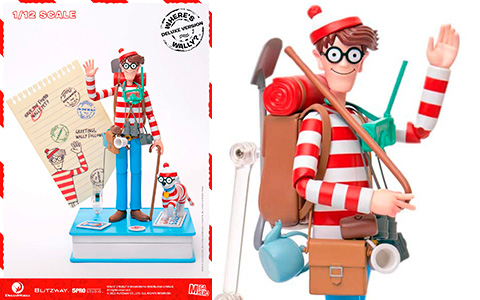 Where is Waldo Deluxe and Normal 1/12th Scale Action Figures from Blitzway