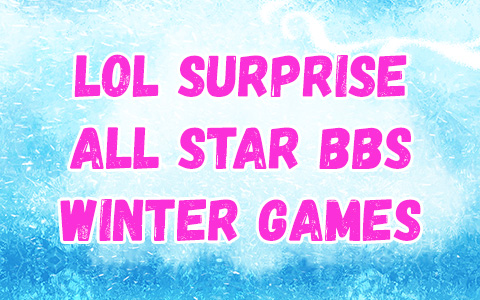 LOL Surprise All Star BBS series 4 Winter Games dolls