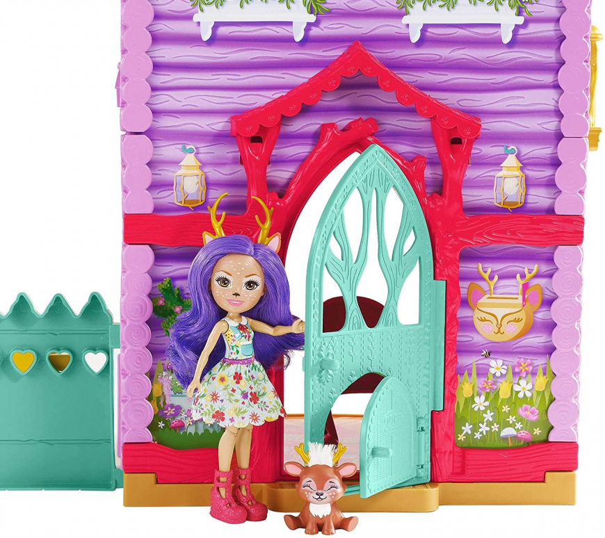 Enchantimals Cozy Deer House with doll
