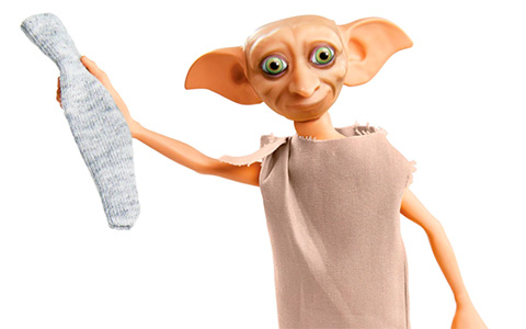 Mattel Harry Potter Dobby The House Elf doll