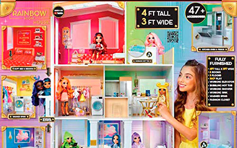 Rainbow High Fashion Dorm House playset