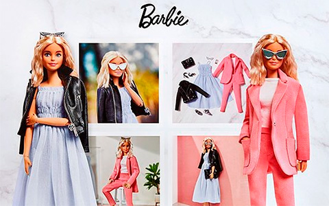 First Barbie BarbieStyle Signature doll