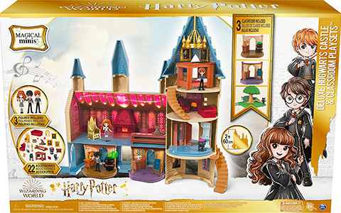 Harry Potter Magical Minis Regular and Deluxe Hogwarts Castle