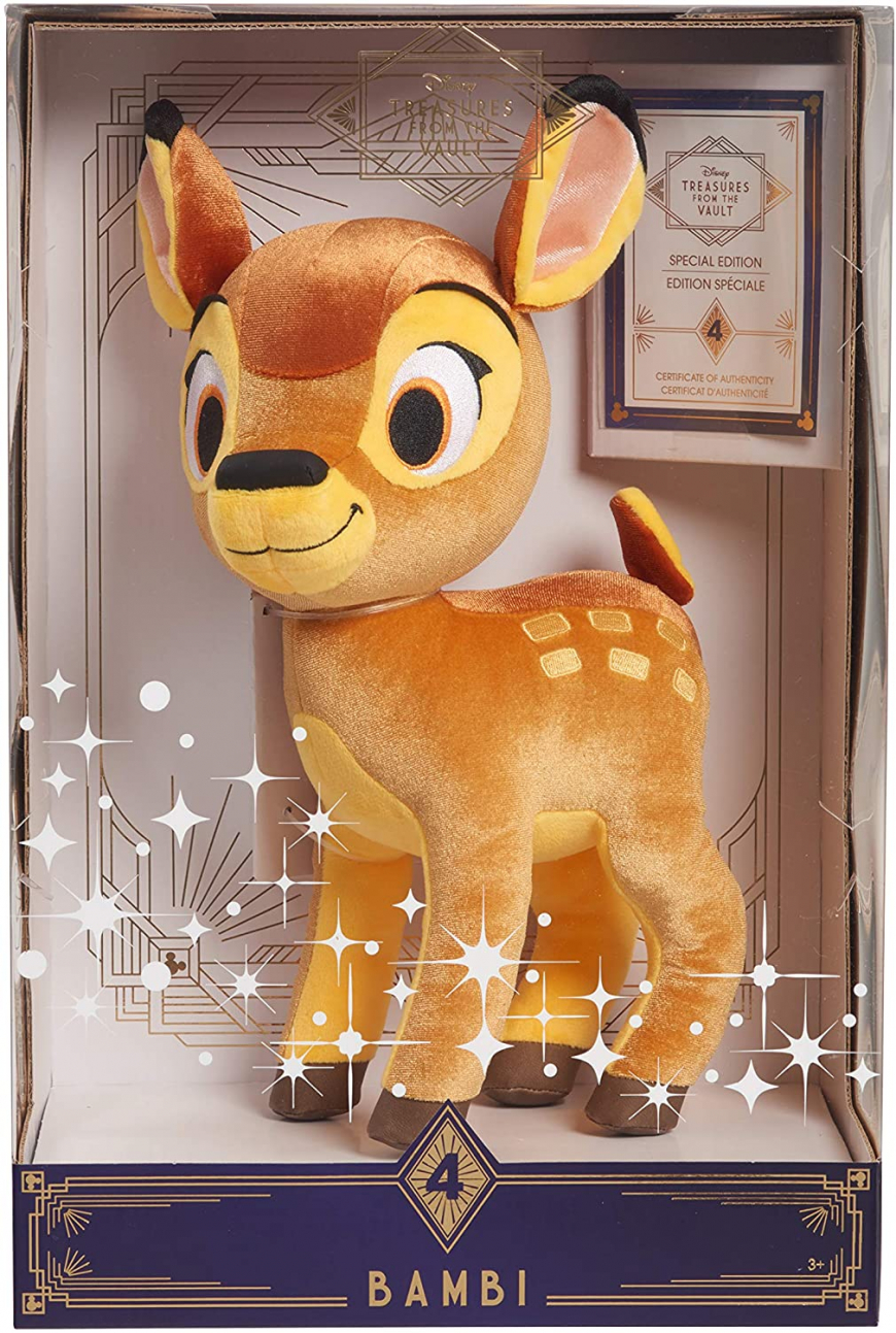 Disney Treasures from The Vault limited edition Bambi plush