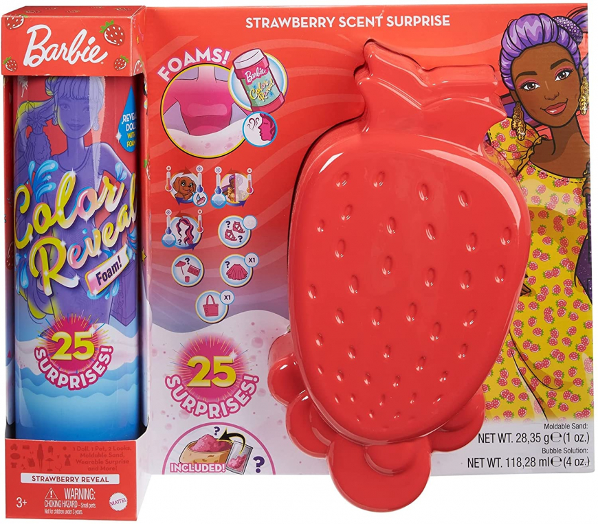Barbie Color Reveal Foam Strawberry