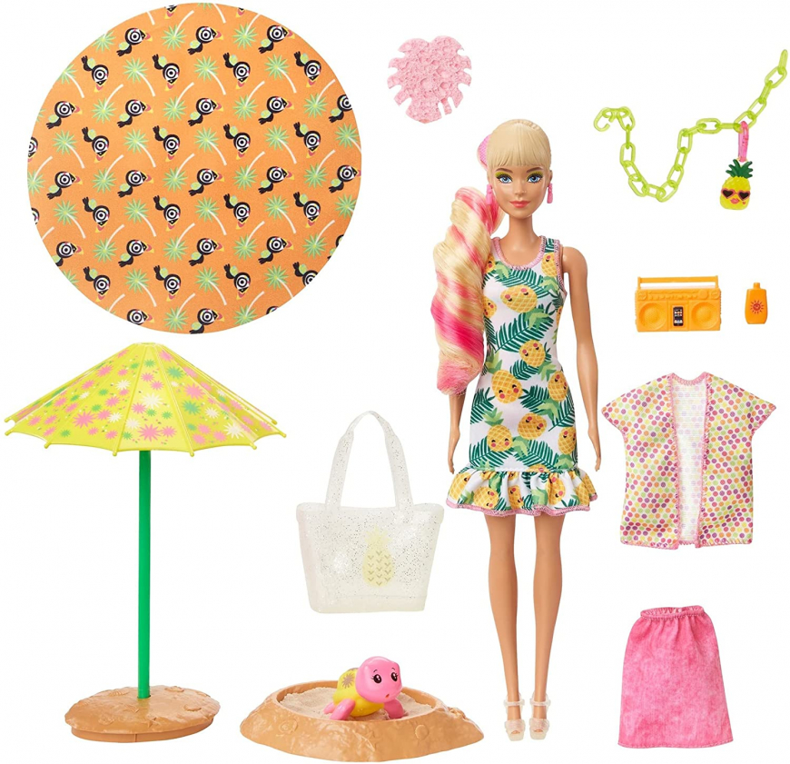 Barbie Color Reveal Foam Pineapple
