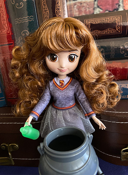 Harry Potter Wizarding World 8 inches dolls from Spin Master: Harry Potter, Hermione Granger, Luna Lovegood, Cho dolls, sets  and more