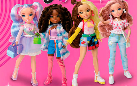 Glo-Up Girls - new cute fashion dolls