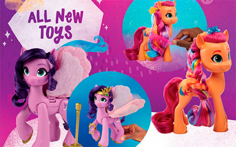 First look at new My Little Pony Movie 2021 toys