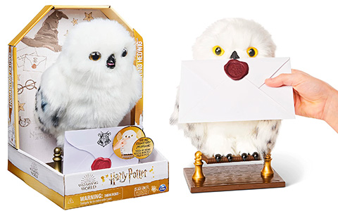 Harry Potter Enchanting Hedwig Interactive Plush