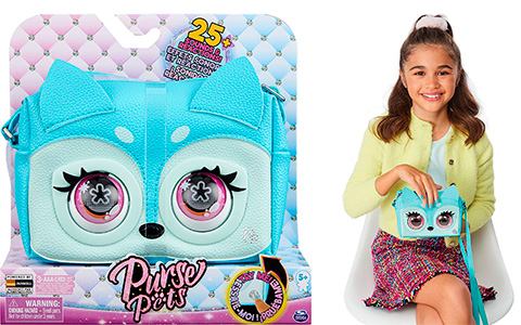 Purse Pets from Spin Master - super cool purses that has 25+ sounds and reactions