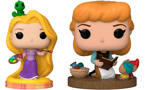 Disney Princesses Ultimate Princess Funko Pop: Rapunzel, Snow White, Moana, Cinderella and Pocahontas
