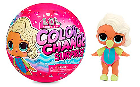 LOL Surprise Color Change dolls 2021