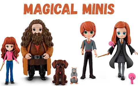 Harry Potter Magical Minis Friendship Pack sets figures