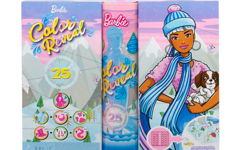 Barbie Color Reveal Advent Calendar 2021