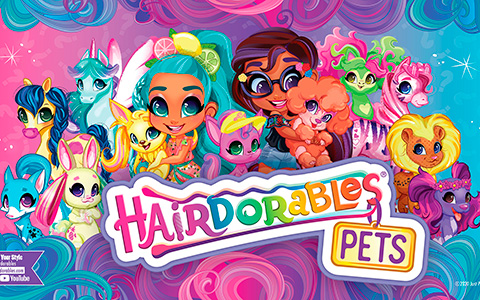 Hairdorables Pets series 3 color reveal - 25 new pets to collect