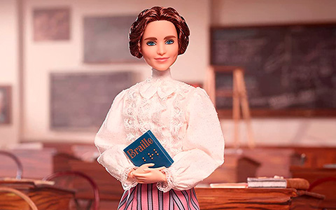 Barbie Inspiring Women Helen Keller doll