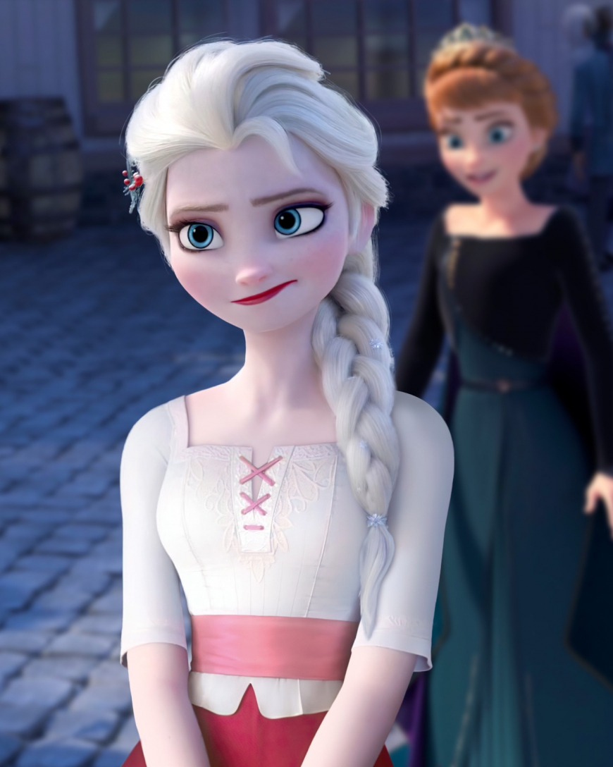 Frozen 2 Elsa fantasy outfits photoshop