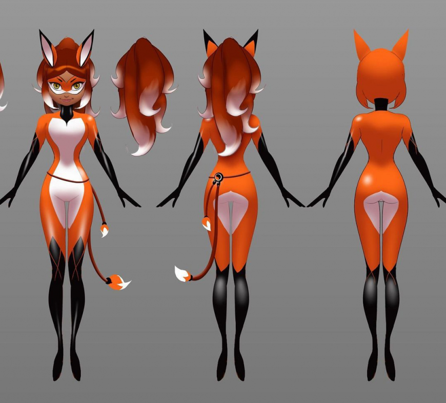 Miraculous Ladybug Rena Rouge official concept art